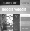 Giants of BOOGIE WOOGIE